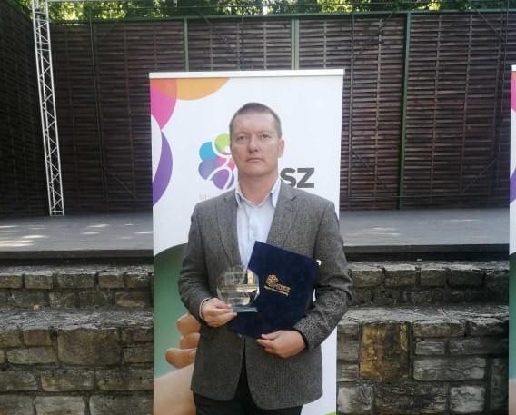 MDSZ kitüntetést kapott Borka Gábor tanár úr