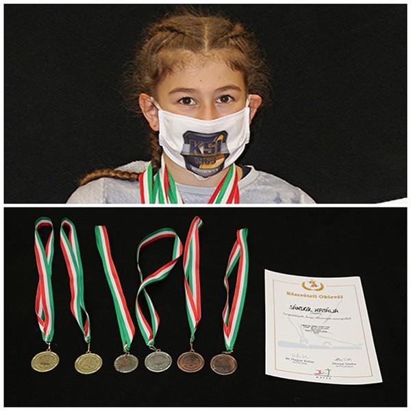 Sándor Natália (6.s) – Magyar Torna Szövetség országos csapatbajnokság