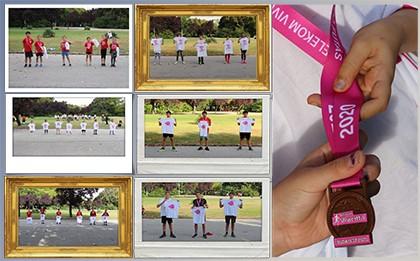 A 2020. szeptember 25-i Vajda-futás győztesei