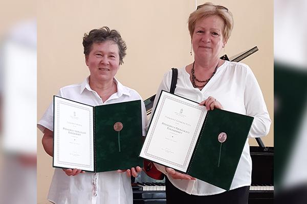 Pedagógus Szolgálati Emlékérem két kollégánknak