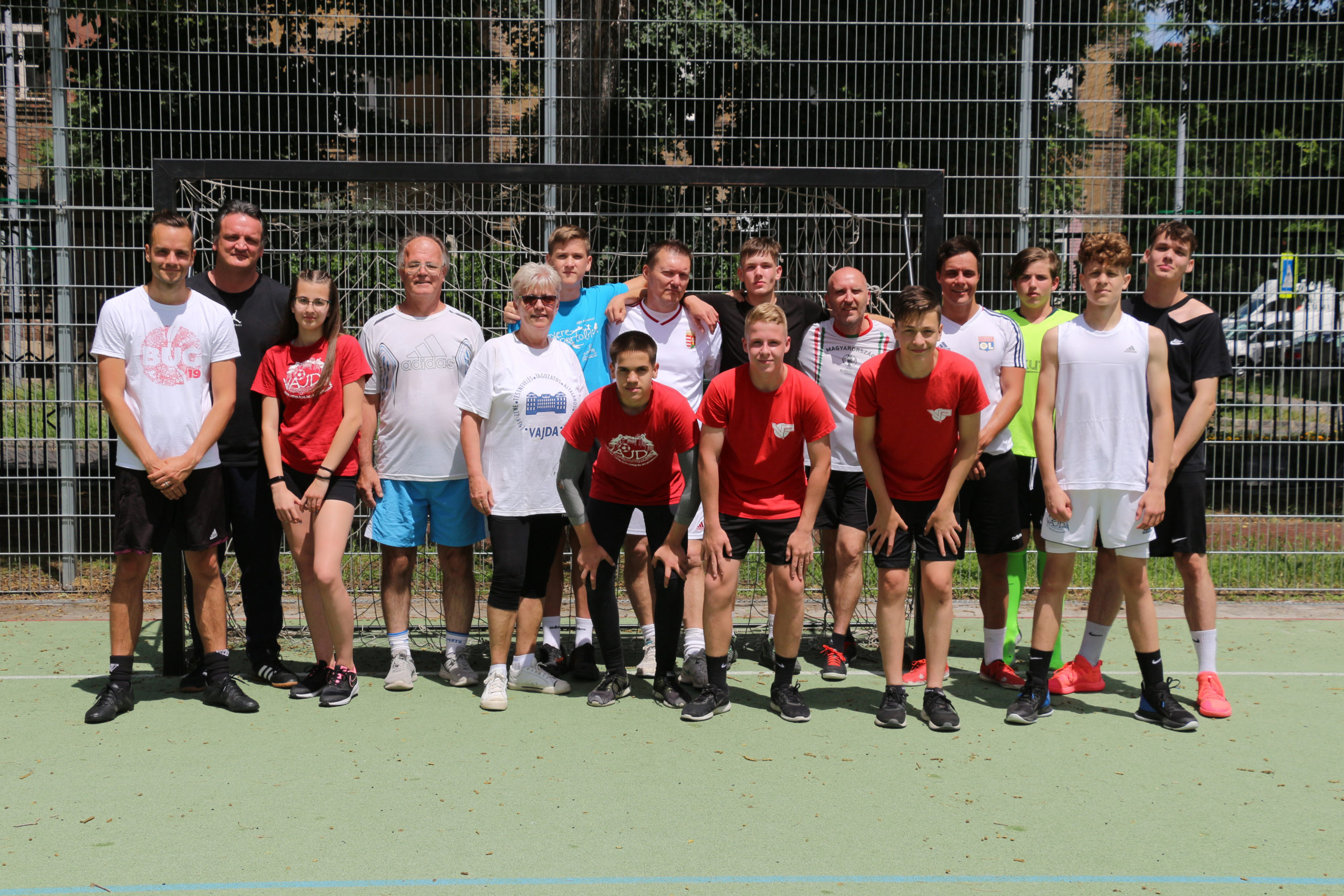 Tanár-diák foci – 2021.06.14.